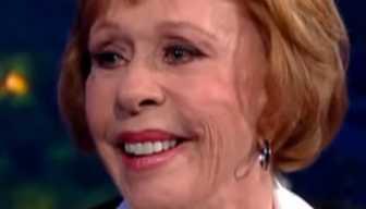Comedienne Carol Burnett